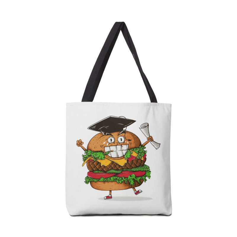 Pass the Nutrition Test Accessories Bag by godzillarge's Artist Shop