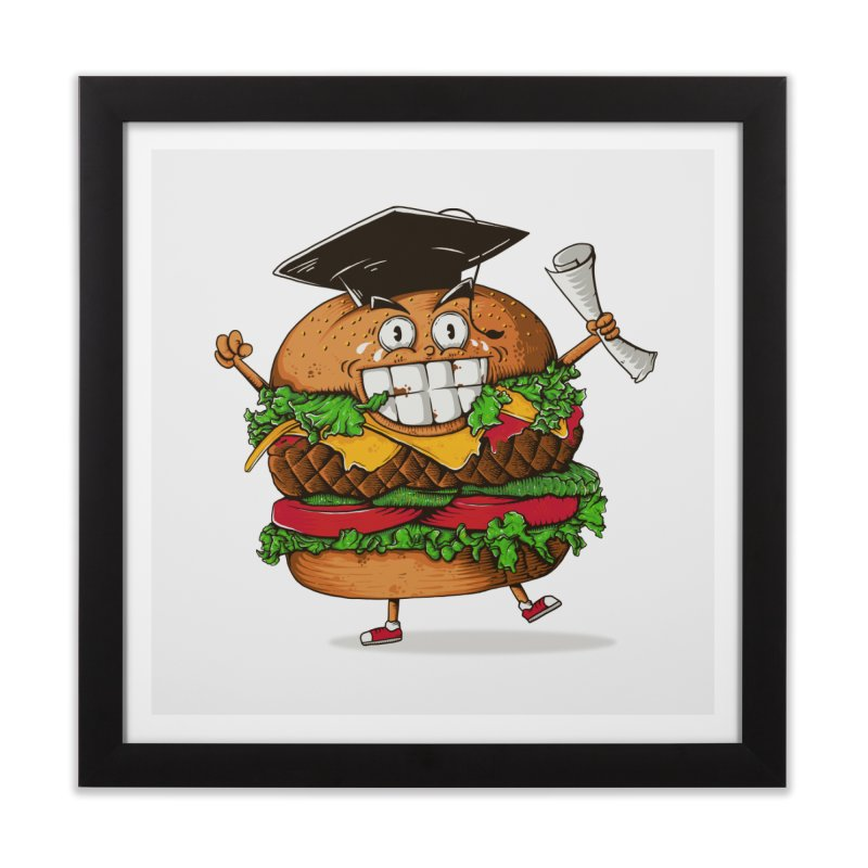 Pass the Nutrition Test Home Framed Fine Art Print by godzillarge's Artist Shop