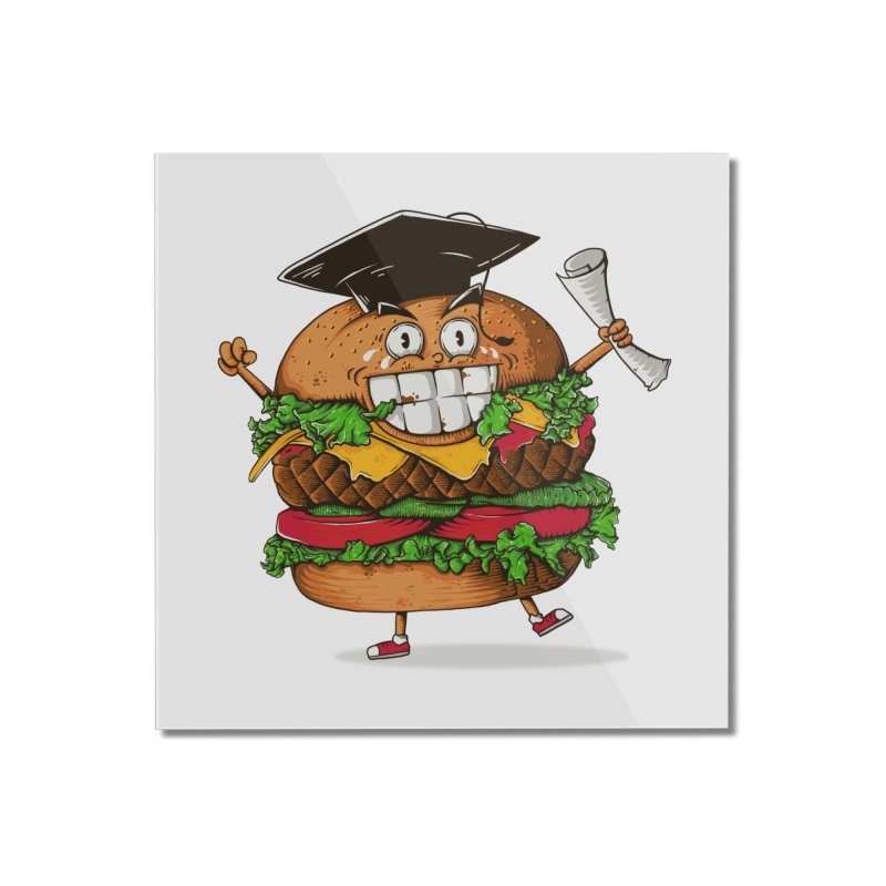 Pass the Nutrition Test Home Mounted Acrylic Print by godzillarge's Artist Shop