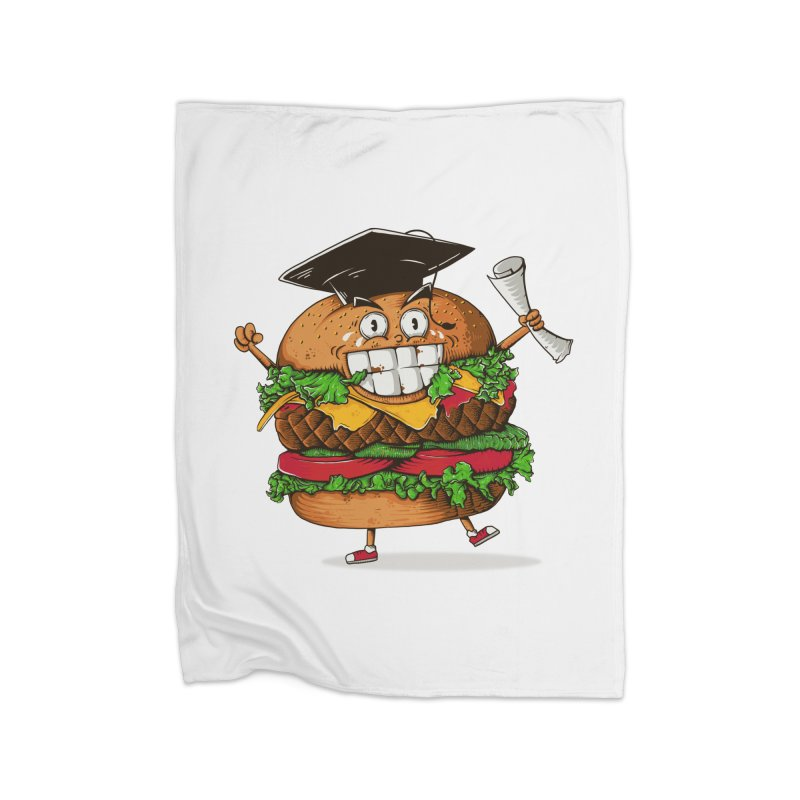 Pass the Nutrition Test Home Blanket by godzillarge's Artist Shop