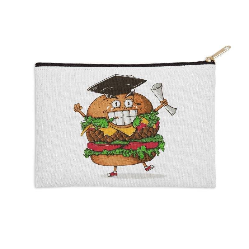 Pass the Nutrition Test Accessories Zip Pouch by godzillarge's Artist Shop