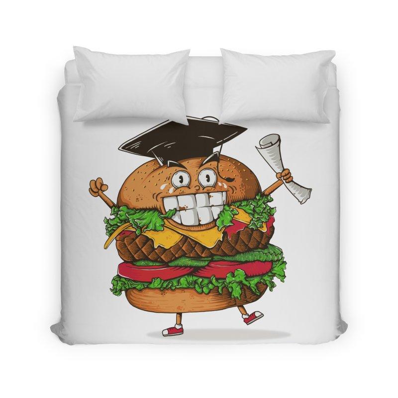 Pass the Nutrition Test Home Duvet by godzillarge's Artist Shop