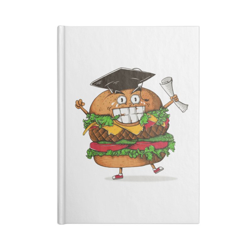 Pass the Nutrition Test Accessories Notebook by godzillarge's Artist Shop