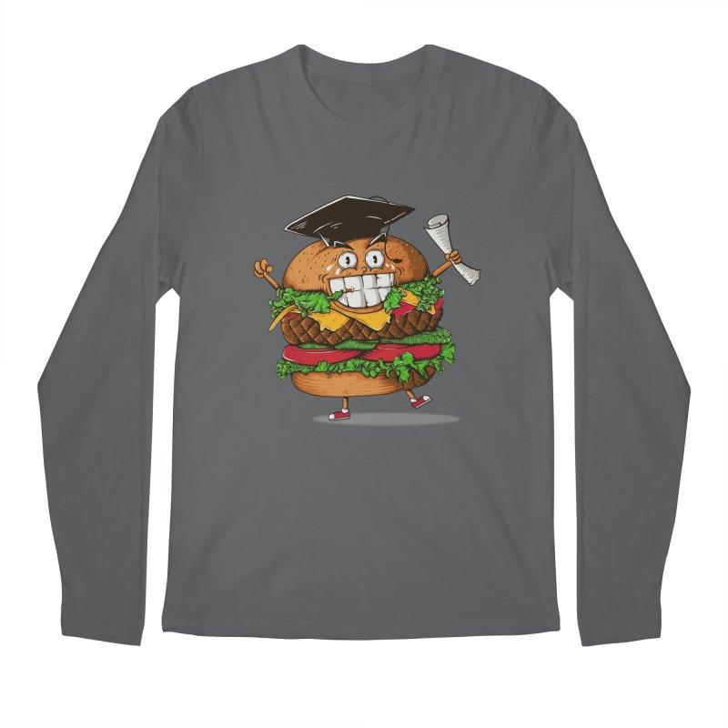 Pass the Nutrition Test Men's Longsleeve T-Shirt by godzillarge's Artist Shop