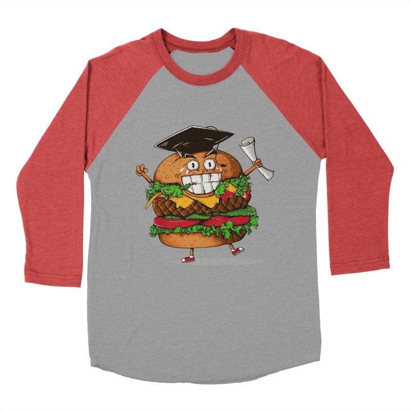 Pass the Nutrition Test Men's Baseball Triblend T-Shirt by godzillarge's Artist Shop