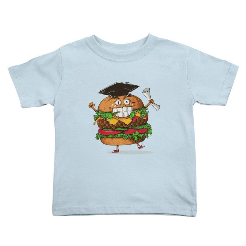 Pass the Nutrition Test Kids Toddler T-Shirt by godzillarge's Artist Shop