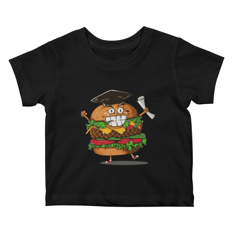 Pass the Nutrition Test Kids Baby T-Shirt by godzillarge's Artist Shop