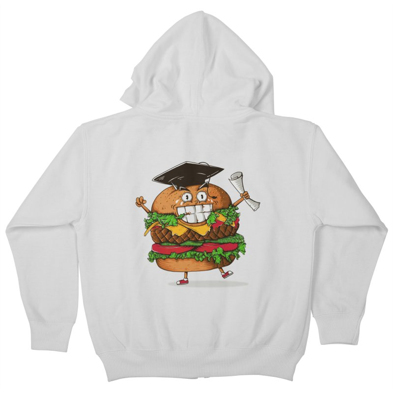 Pass the Nutrition Test Kids Zip-Up Hoody by godzillarge's Artist Shop