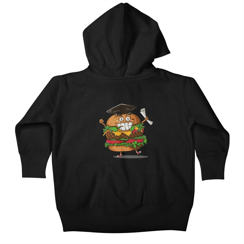 Pass the Nutrition Test Kids Baby Zip-Up Hoody by godzillarge's Artist Shop