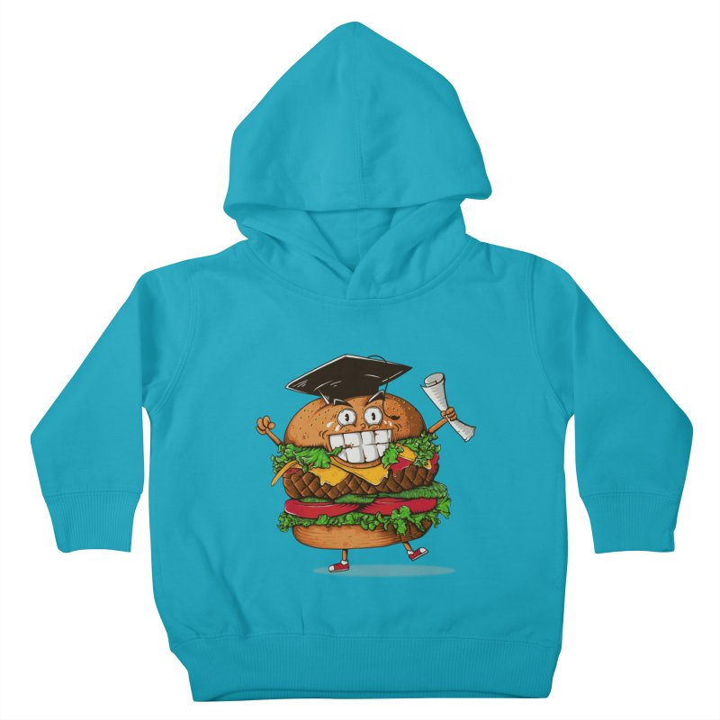 Pass the Nutrition Test Kids Toddler Pullover Hoody by godzillarge's Artist Shop