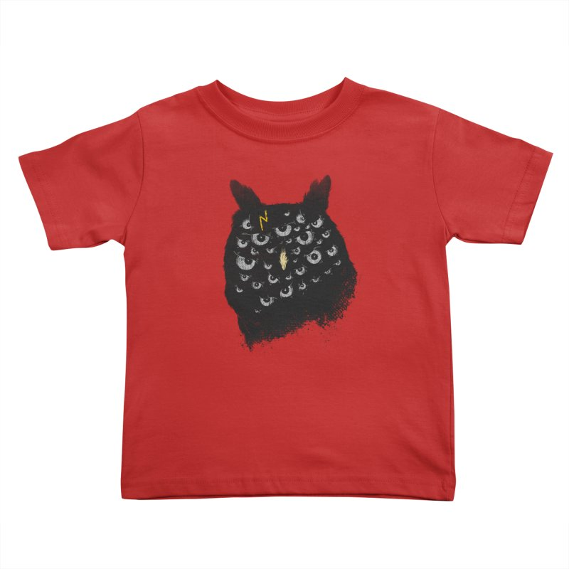 The Untold Creature Kids Toddler T-Shirt by godzillarge's Artist Shop