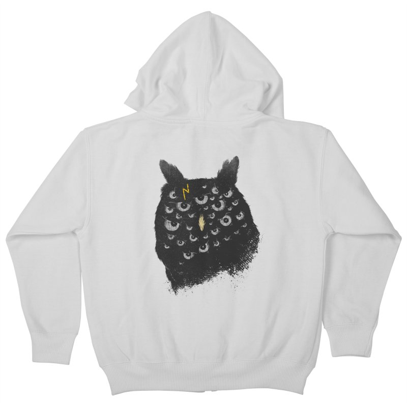 The Untold Creature Kids Zip-Up Hoody by godzillarge's Artist Shop