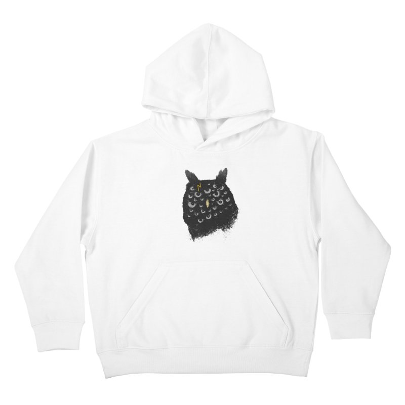 The Untold Creature Kids Pullover Hoody by godzillarge's Artist Shop