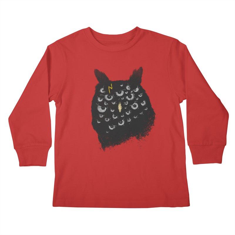 The Untold Creature Kids Longsleeve T-Shirt by godzillarge's Artist Shop