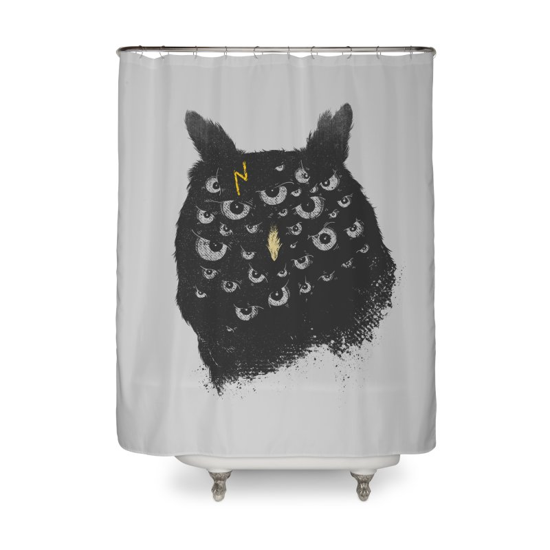 The Untold Creature Home Shower Curtain by godzillarge's Artist Shop