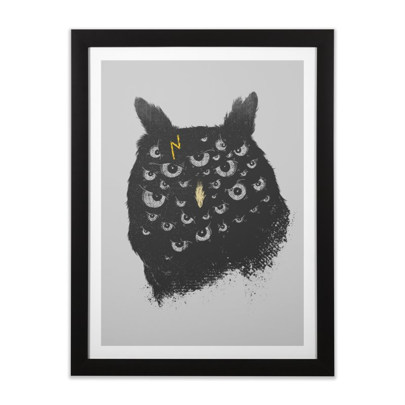The Untold Creature Home Framed Fine Art Print by godzillarge's Artist Shop