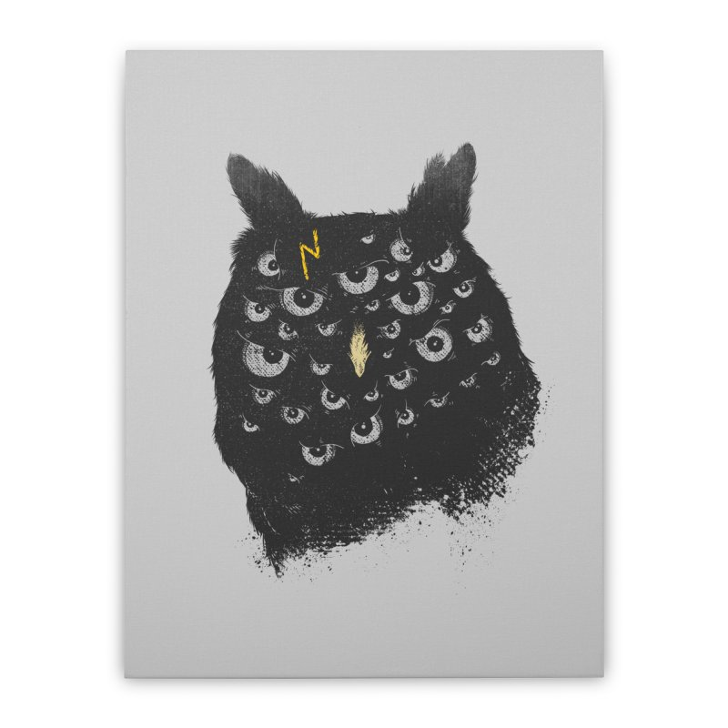 The Untold Creature Home Stretched Canvas by godzillarge's Artist Shop