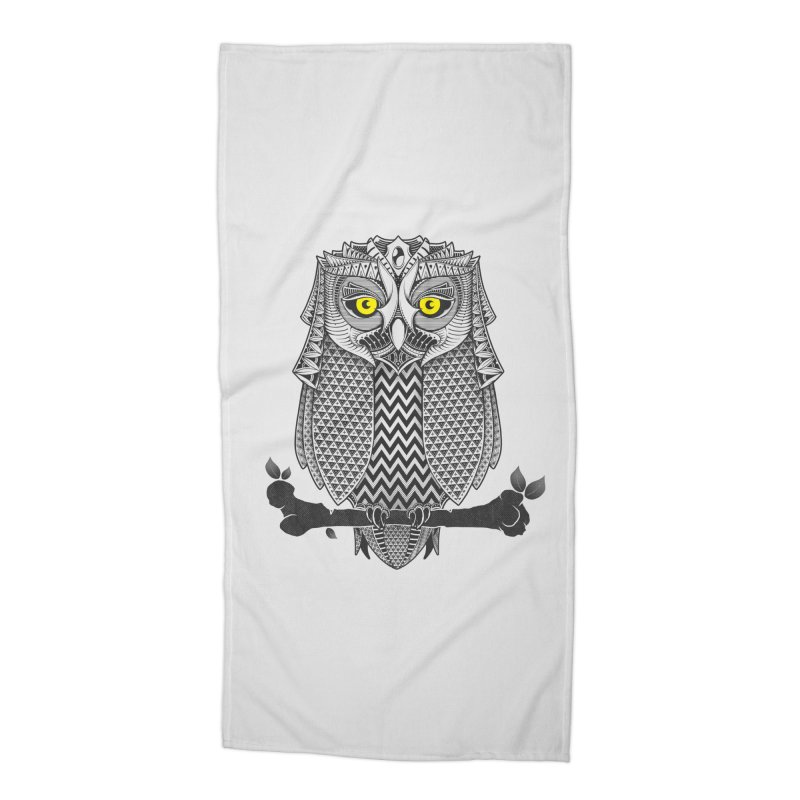 The Waiting Game Accessories Beach Towel by godzillarge's Artist Shop