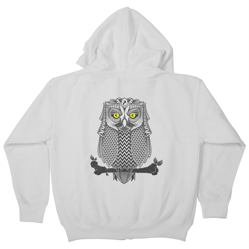 The Waiting Game Kids Zip-Up Hoody by godzillarge's Artist Shop