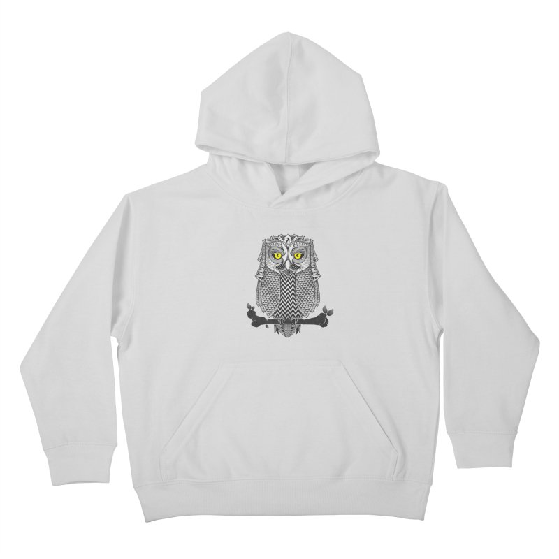 The Waiting Game Kids Pullover Hoody by godzillarge's Artist Shop