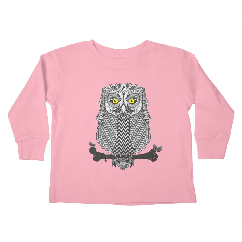 The Waiting Game Kids Toddler Longsleeve T-Shirt by godzillarge's Artist Shop