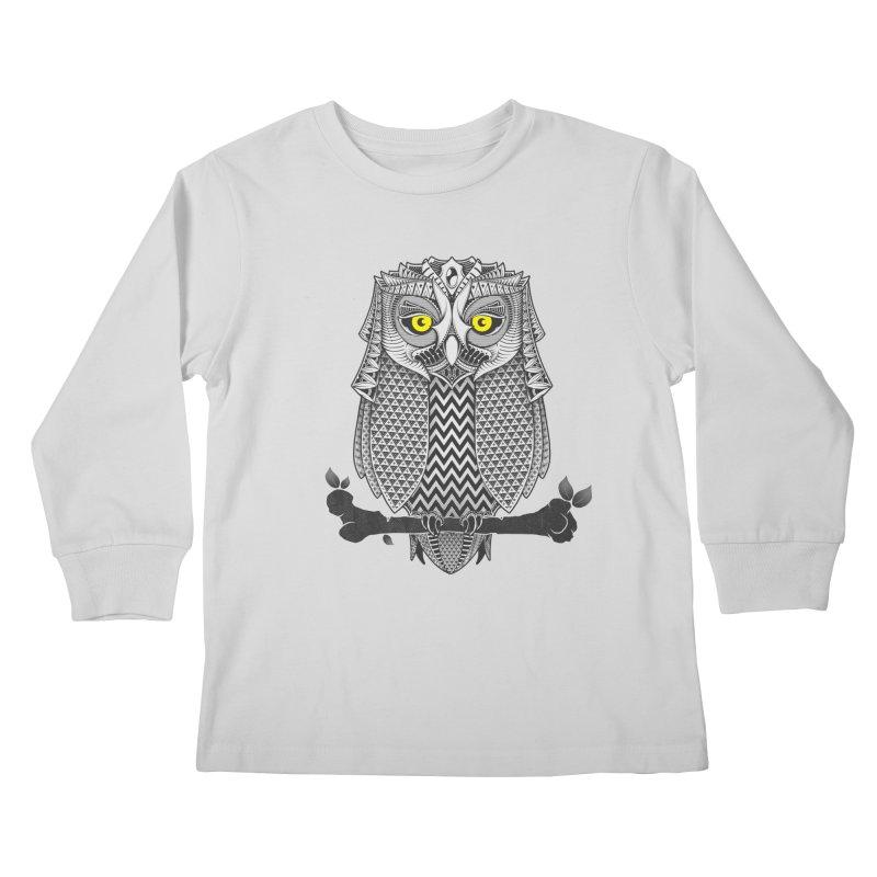The Waiting Game Kids Longsleeve T-Shirt by godzillarge's Artist Shop