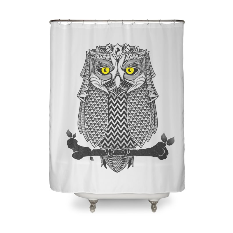 The Waiting Game Home Shower Curtain by godzillarge's Artist Shop