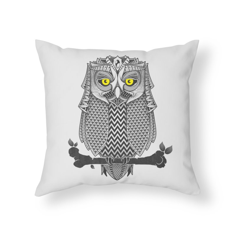 The Waiting Game Home Throw Pillow by godzillarge's Artist Shop