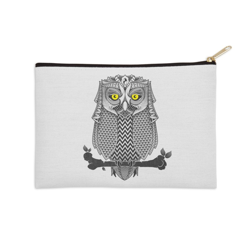 The Waiting Game Accessories Zip Pouch by godzillarge's Artist Shop