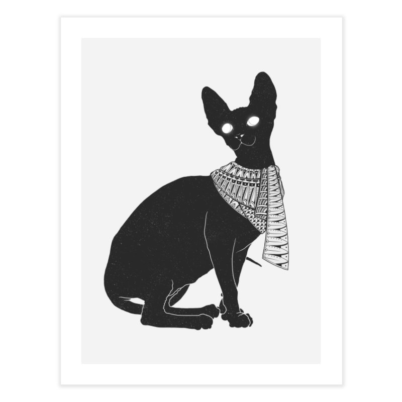 Ancient Cat Home Fine Art Print by godzillarge's Artist Shop