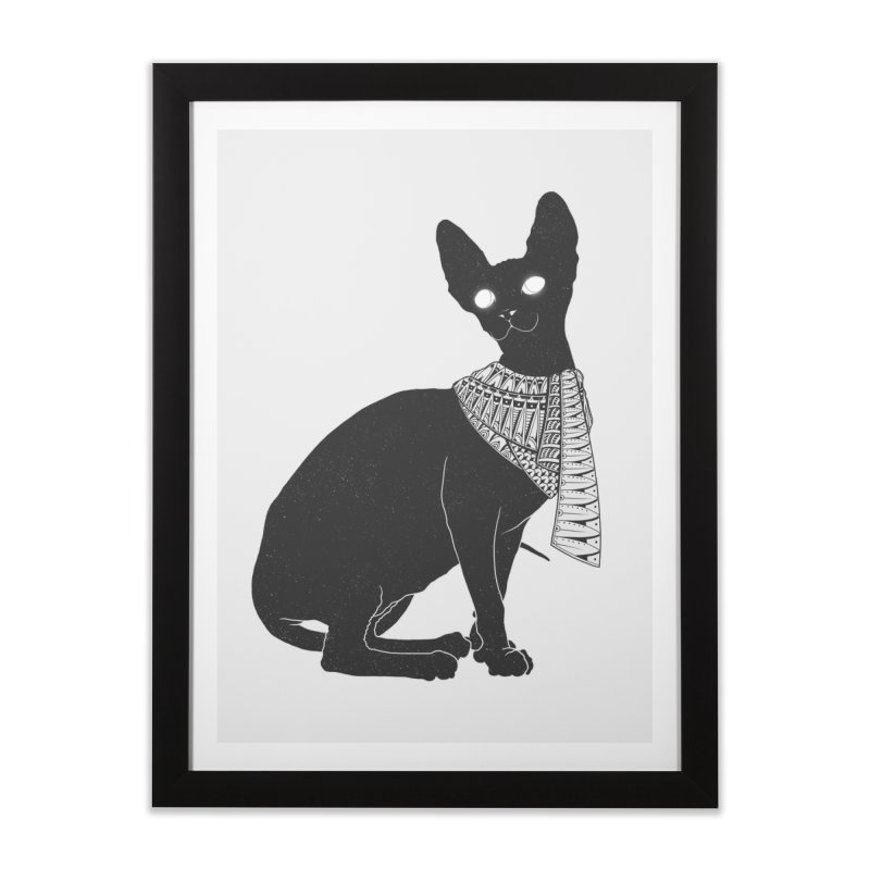 Ancient Cat Home Framed Fine Art Print by godzillarge's Artist Shop