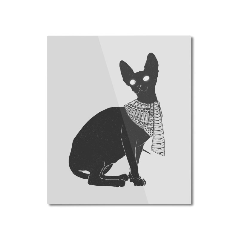Ancient Cat Home Mounted Aluminum Print by godzillarge's Artist Shop