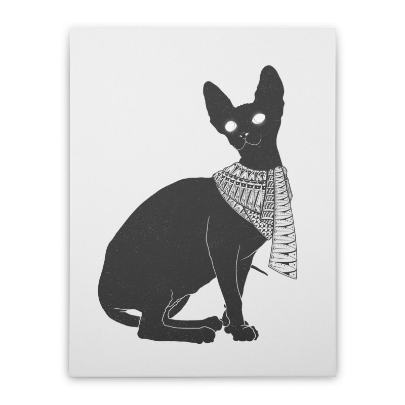 Ancient Cat Home Stretched Canvas by godzillarge's Artist Shop