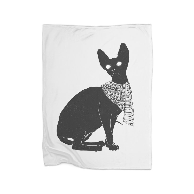 Ancient Cat Home Blanket by godzillarge's Artist Shop