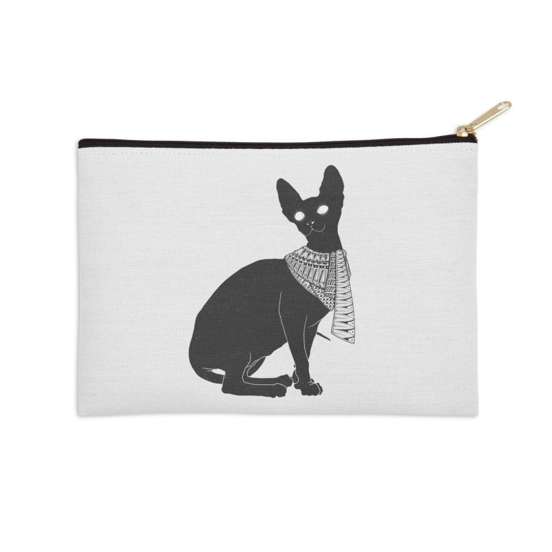 Ancient Cat Accessories Zip Pouch by godzillarge's Artist Shop