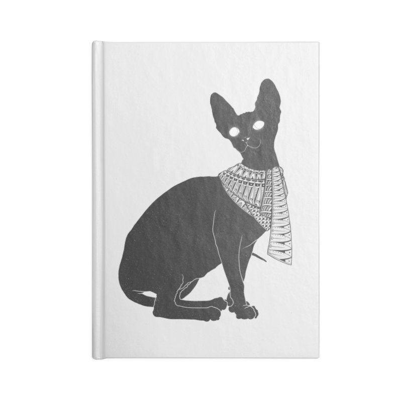 Ancient Cat Accessories Notebook by godzillarge's Artist Shop