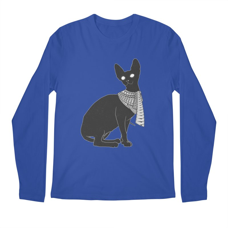 Ancient Cat Men's Longsleeve T-Shirt by godzillarge's Artist Shop