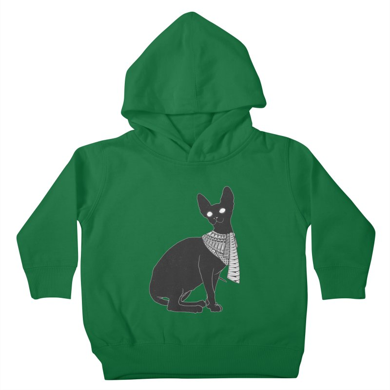Ancient Cat Kids Toddler Pullover Hoody by godzillarge's Artist Shop