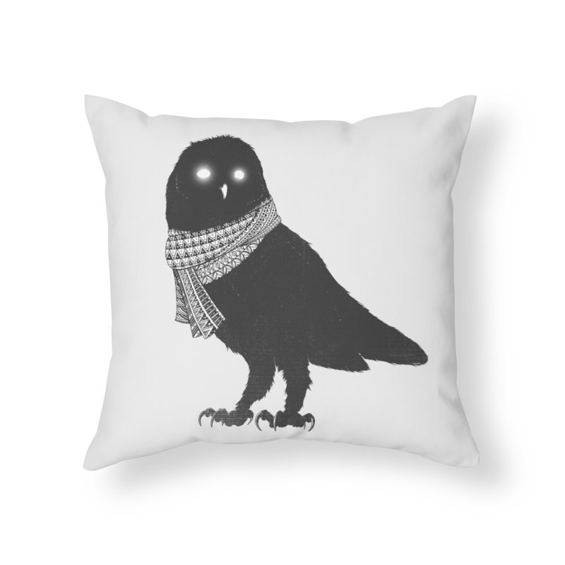 The Wanderer Home Throw Pillow by godzillarge's Artist Shop