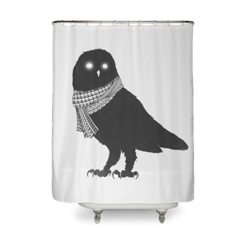 The Wanderer Home Shower Curtain by godzillarge's Artist Shop