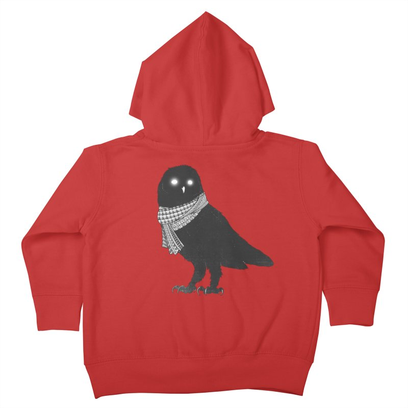 The Wanderer Kids Toddler Zip-Up Hoody by godzillarge's Artist Shop