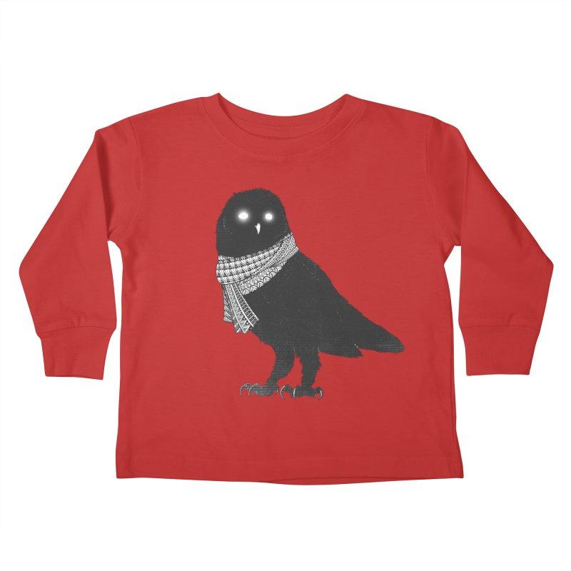 The Wanderer Kids Toddler Longsleeve T-Shirt by godzillarge's Artist Shop