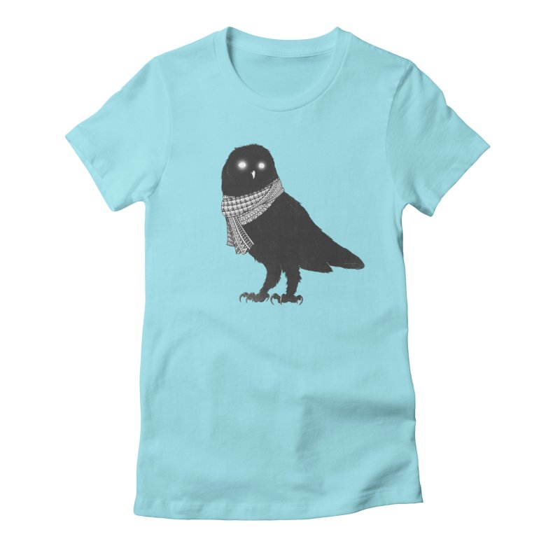 The Wanderer Women's Fitted T-Shirt by godzillarge's Artist Shop