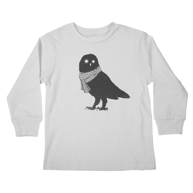 The Wanderer Kids Longsleeve T-Shirt by godzillarge's Artist Shop