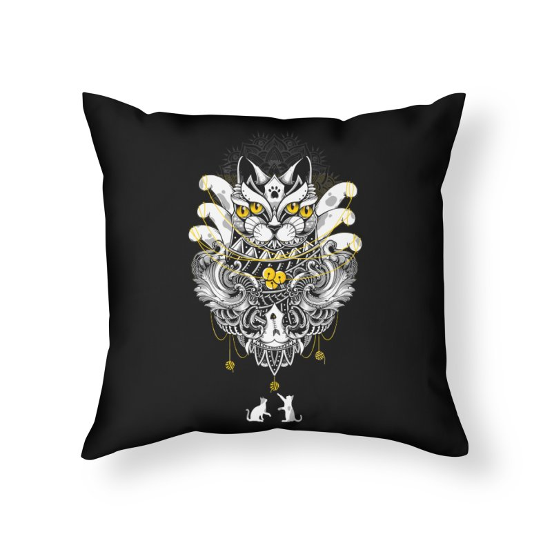Sacred Ritual Home Throw Pillow by godzillarge's Artist Shop