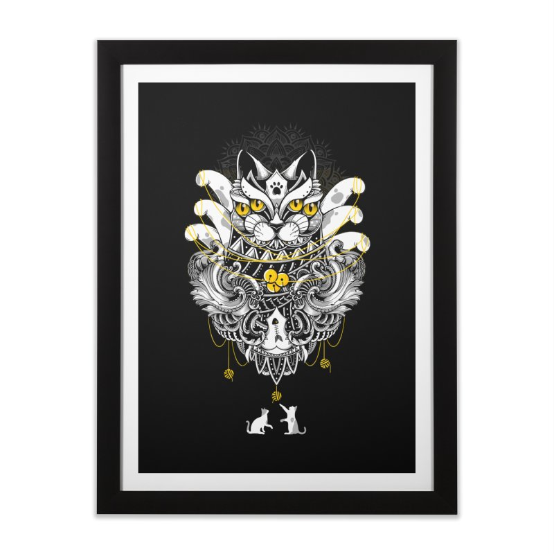 Sacred Ritual Home Framed Fine Art Print by godzillarge's Artist Shop