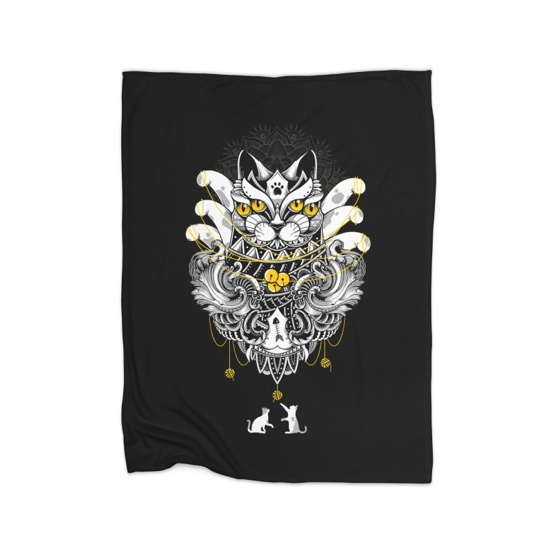 Sacred Ritual Home Blanket by godzillarge's Artist Shop
