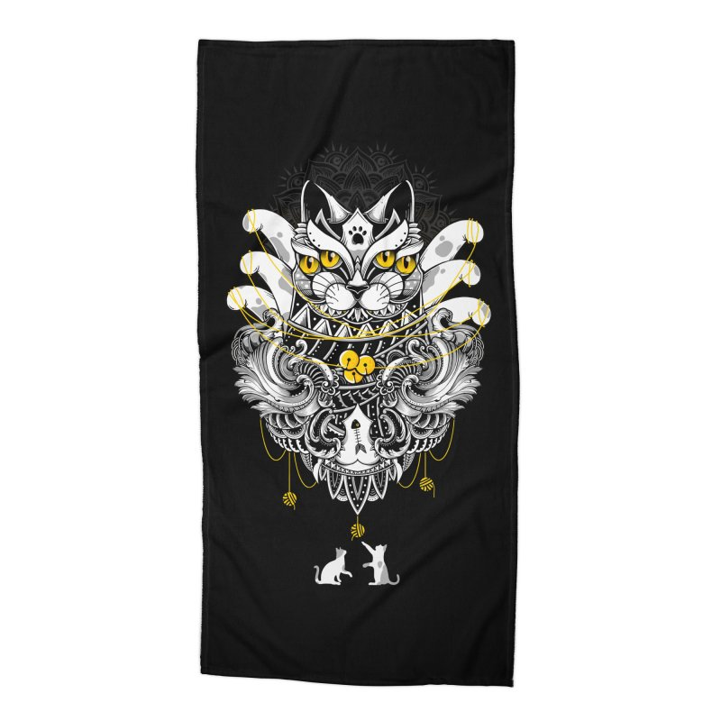 Sacred Ritual Accessories Beach Towel by godzillarge's Artist Shop