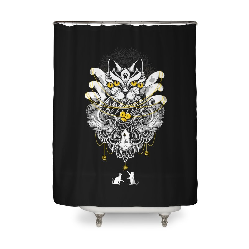 Sacred Ritual Home Shower Curtain by godzillarge's Artist Shop