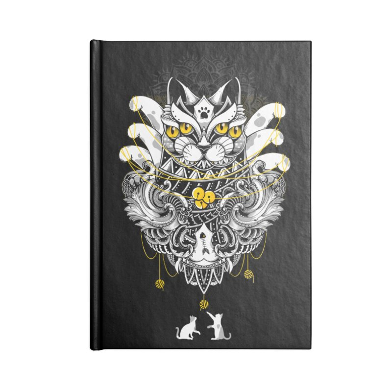 Sacred Ritual Accessories Notebook by godzillarge's Artist Shop